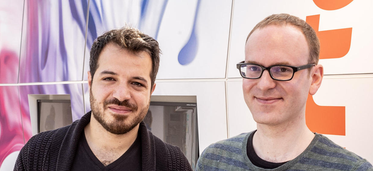 LEIPZIG 2019 Mahir Guven Et André Hansen Stand Arte