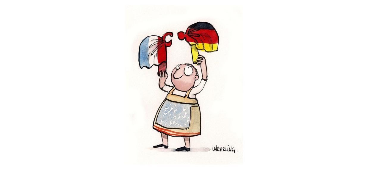 puzzle franco-allemand