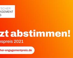 Aufruf Publikumspreis Deutscher Engagementpreis