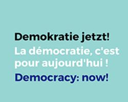 Demokratie jetzt Vignette