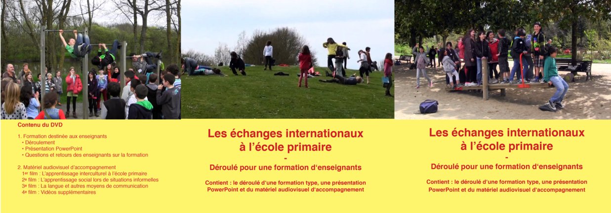 DVD Apprentissages informels et expériences interculturelles à l'école primaire Cover