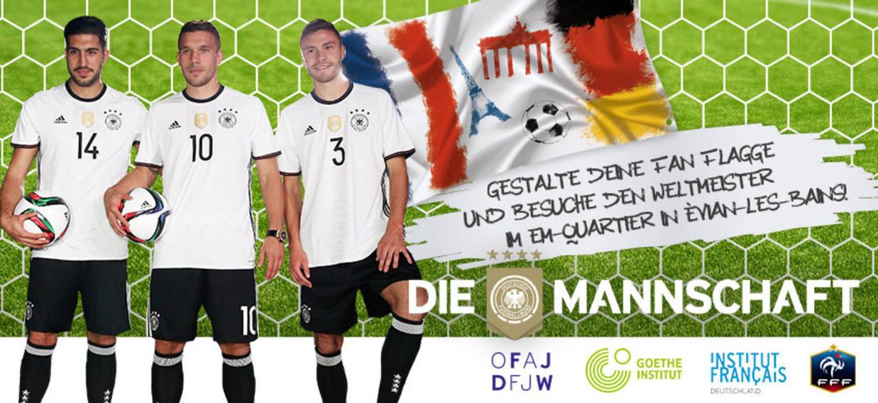 Jugendwettbewerb zur Fußball-Europameisterschaft 2016 in Frankreich