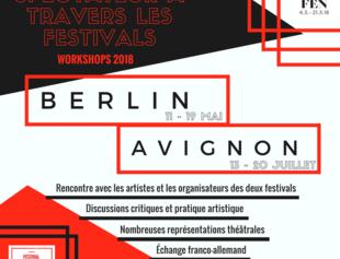 Flyer Berlin Avignon Franz Sisch 1