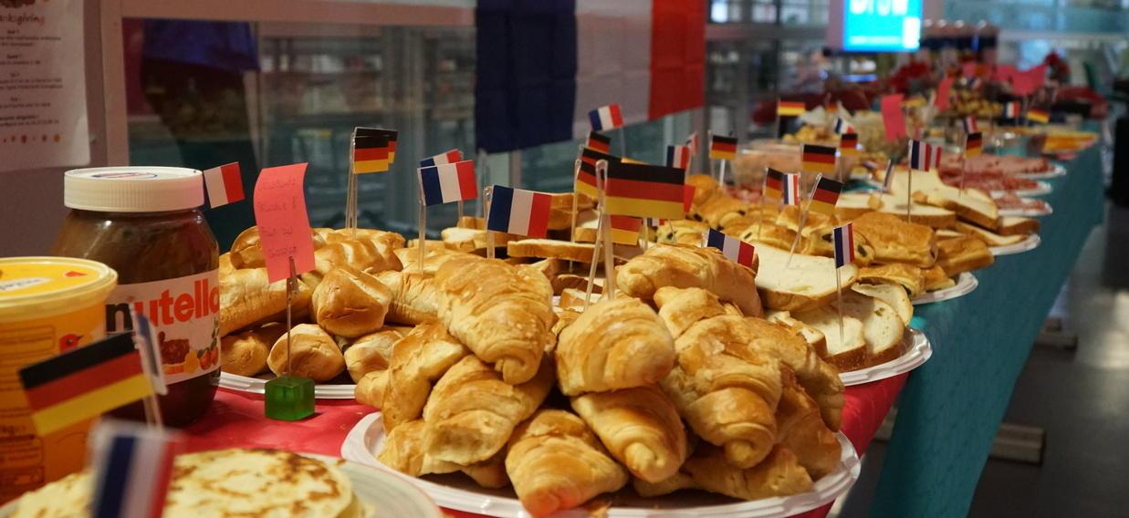 Deutsch-französisches Frühstück