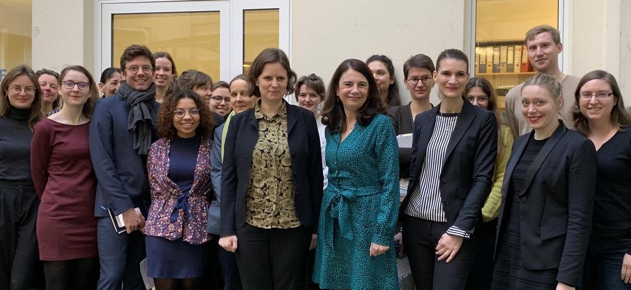 Juliane Seifert zu Besuch im DFJW