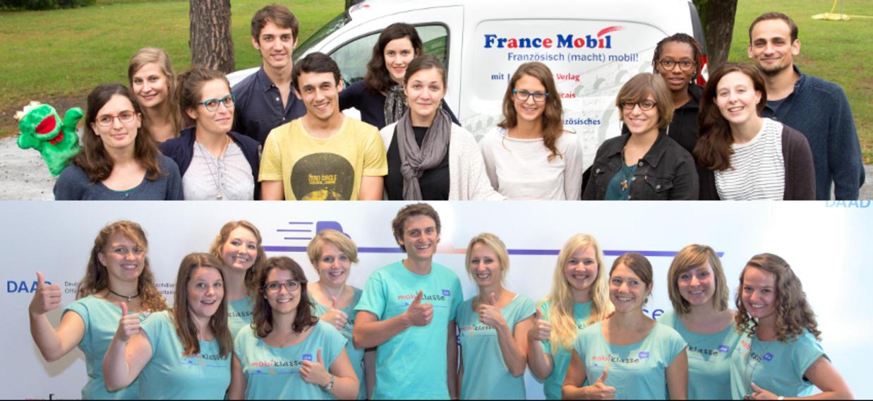 Nous recherchons de nouveaux animateurs pour FranceMobil et mobiklasse.de!
