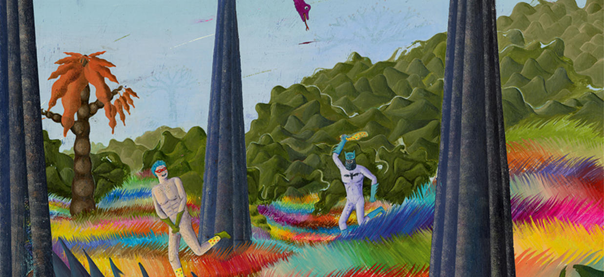 Paradies Robertdeutsch Illustration Batman