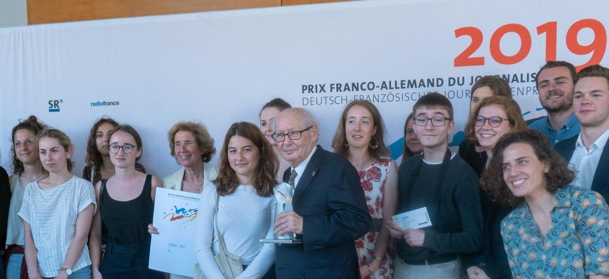 Remise Du Grand Prix Des M Dias Beate Et Serge Klarsfeld 1