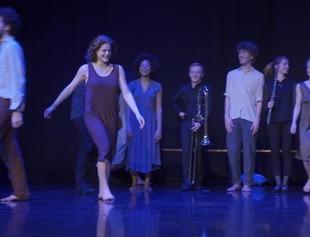 Tanzauftritt Im Rahmen Des Atelier Hiver CNSMD Lyon