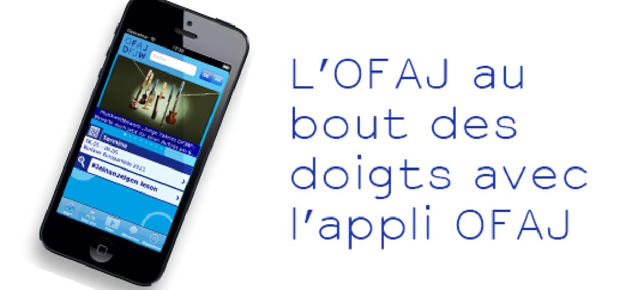 www.ofaj.org en version mobile