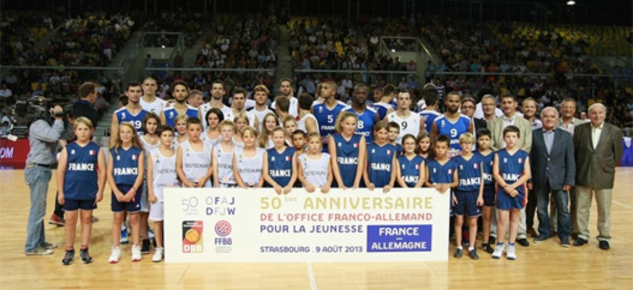 Le basket franco-allemand félicite l'OFAJ