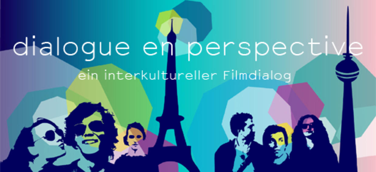 """Logo du prix de la Berlinale """"dialogue en perspective"""" 2015"""