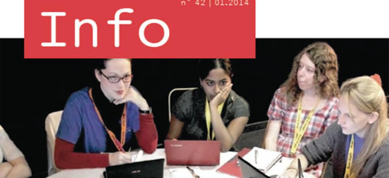 La lettre d'information de l'OFAJ N° 42 - Les échanges de jeunes à l'ère numérique (Janvier 2014)