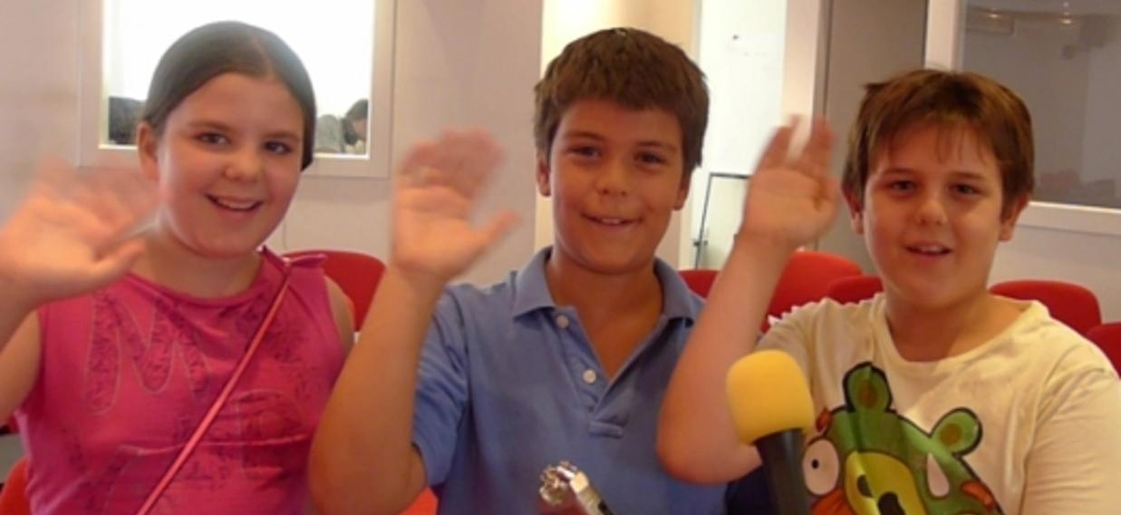 Formation media avec des enfants de Marseille, Berlin et Belgrade