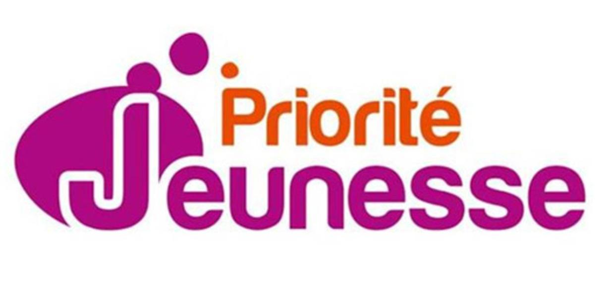 """Logo """"Priorité Jeunesse"""""""