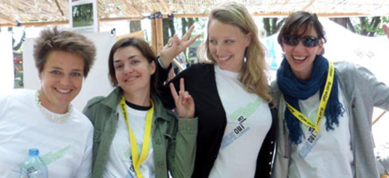 Formatrices du volontariat franco-allemand