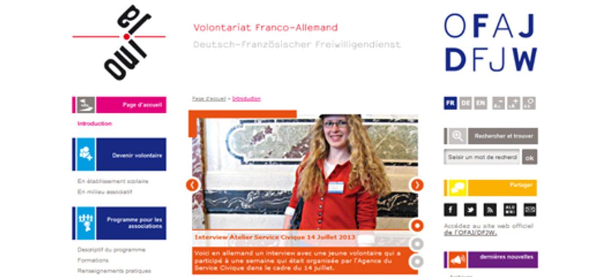 une-website-volontariat