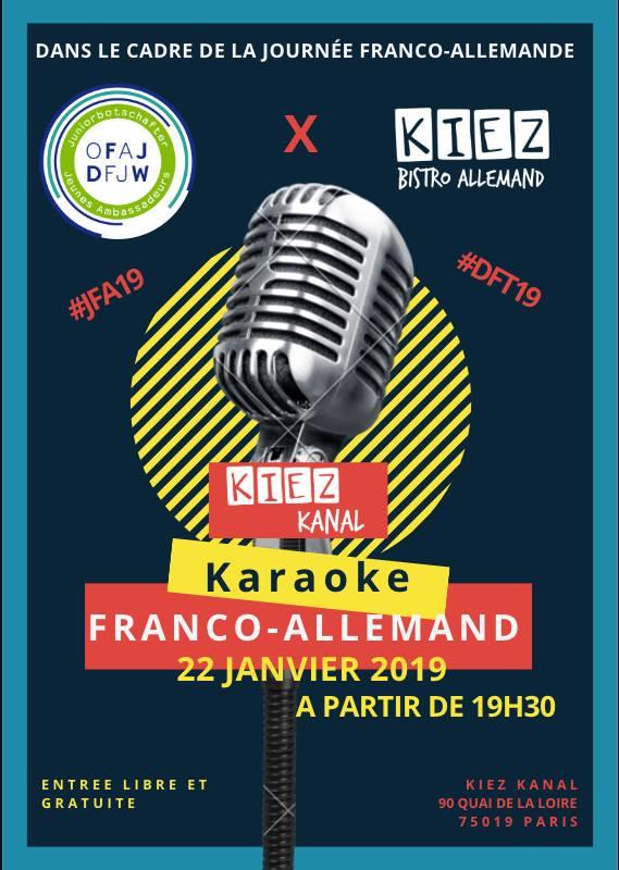 Journee Franco Allemande 2019