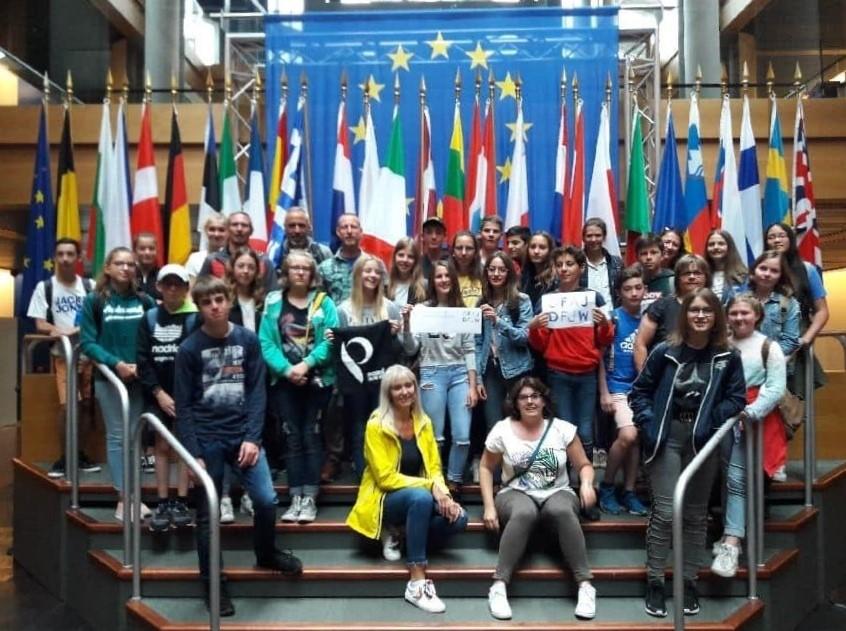 Abenteuer pur bei der 6. deutsch-französischen Jugendbegegnung 1