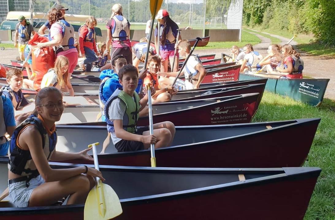 Abenteuer pur bei der 6. deutsch-französischen Jugendbegegnung 2
