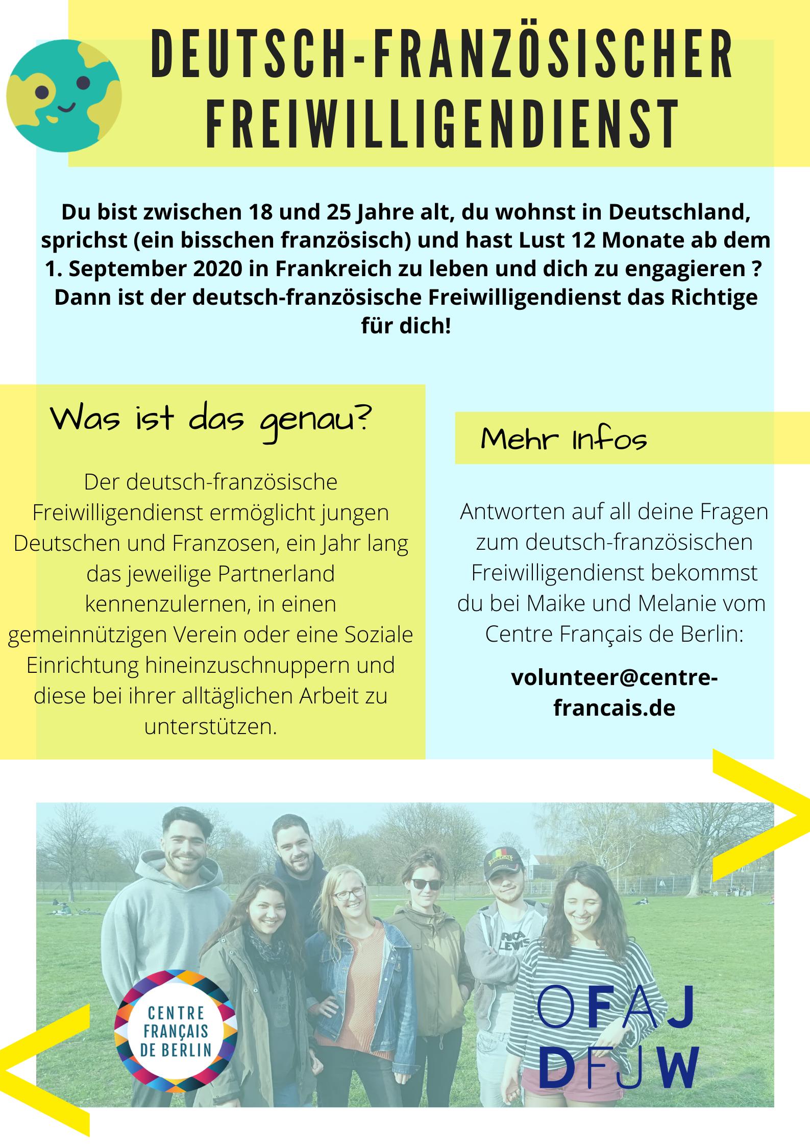 Deutsch Franzoesischer Freiwilligendienst