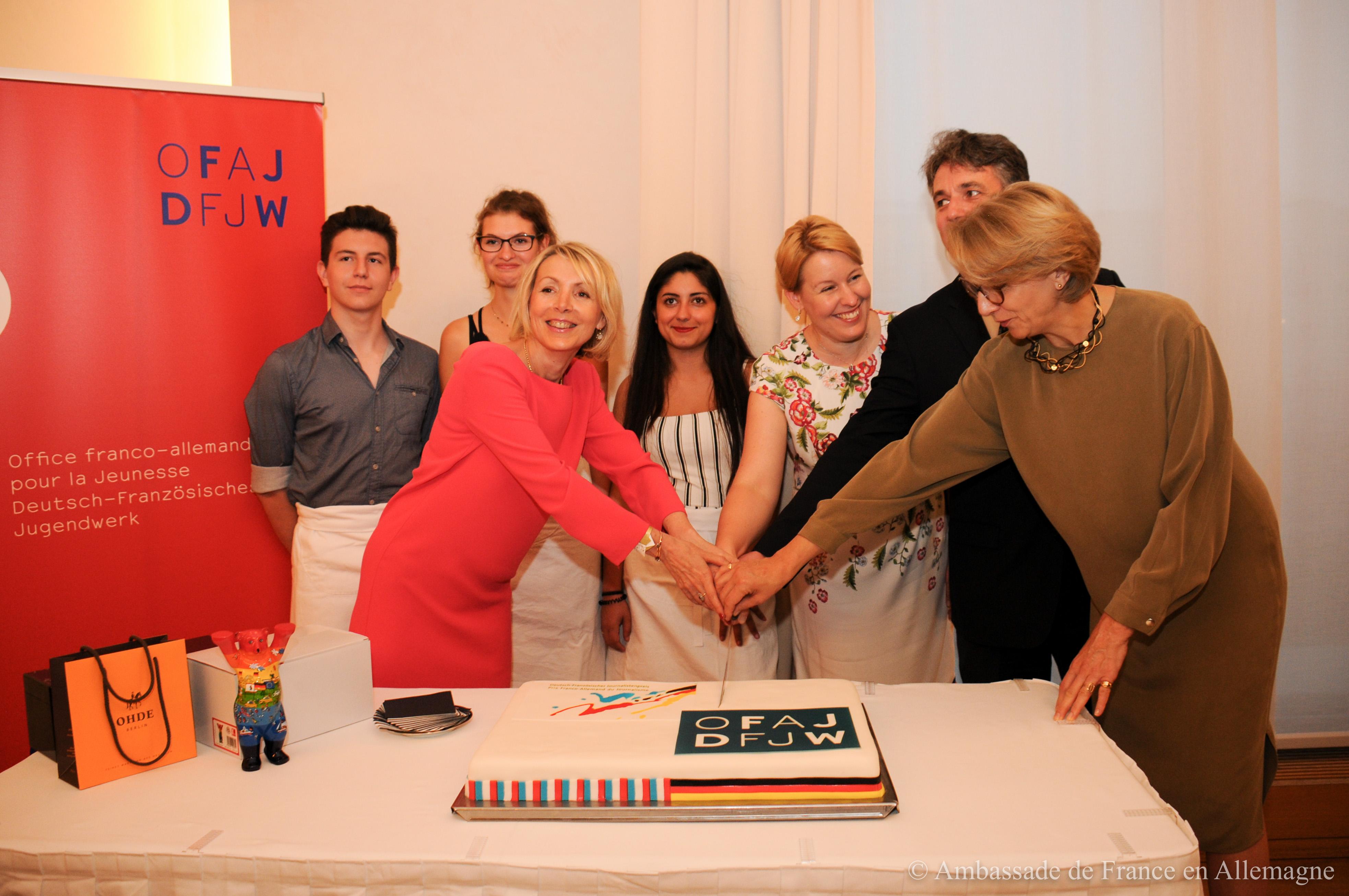 gâteau OFAJ 55 ans