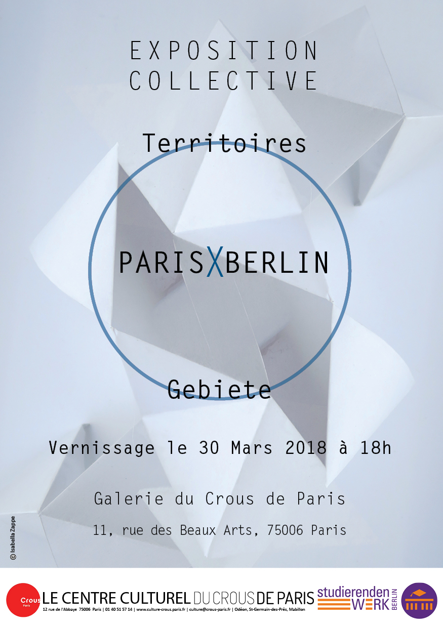 Flyer Territoires ParisXBerlin 2018GalerieCrous A5