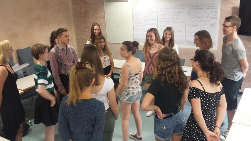 Rencontres d'été 2015 : Stage tandem